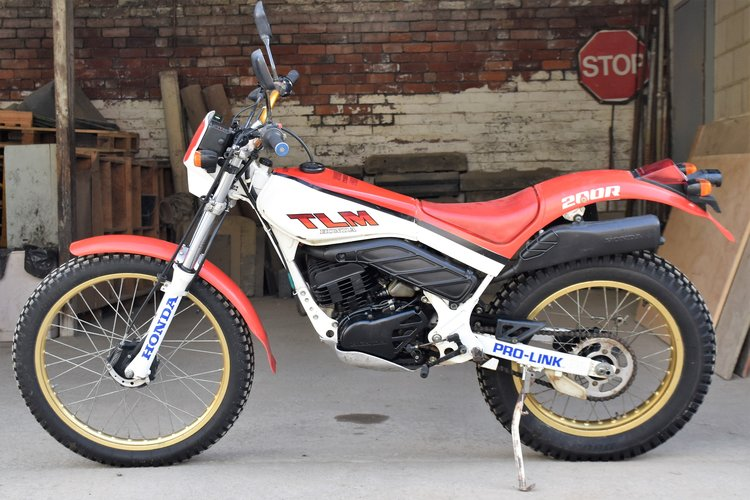 HONDA TLM200R